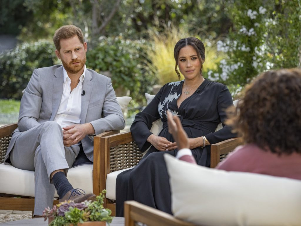 Monarquía Meghan y Harry entrevista
