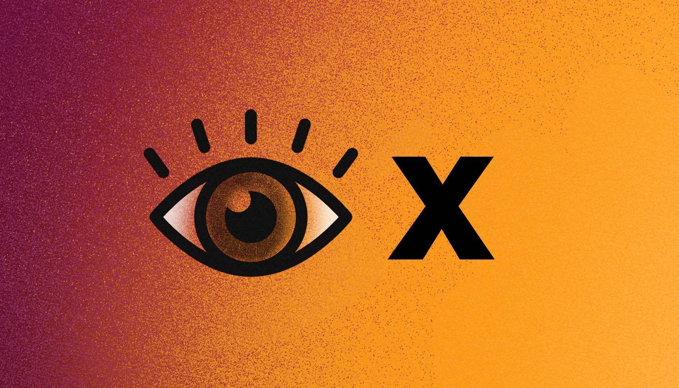 Trauma ocular ojo x