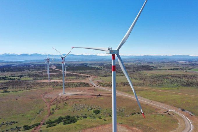 energía parque eólico